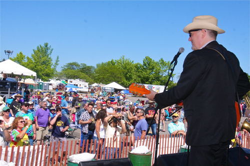 BARBARAELLEN KOCH FILE PHOTO  |  Gene Casey and the Lone Sharks at last year's Blues Festival.