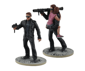 Young Guardian set from Terminator Genisys the Miniatures Game by River Horse