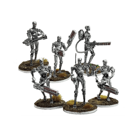 'Specialist' and 'Command' endo doublepack for Terminator Genisys the Miniatures Game by River Horse