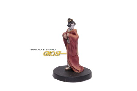 Painted example of Ghost (Ancient) from Highlander The Board Game by River Horse