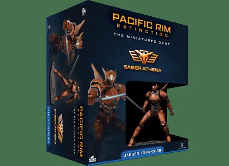 Saber Athena Jaeger Expansion for Pacific Rim Extinction by River Horse