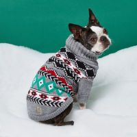 Grey RI Dog Fairisle Christmas jumper - Dog Clothing ...