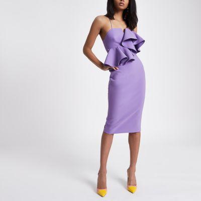 Purple Bodycon Dresses