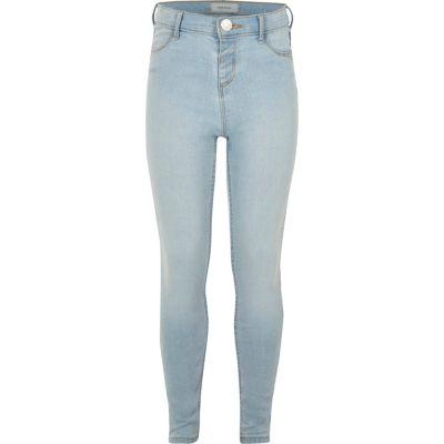 Girls light blue Molly jeggings  Jeggings  Jeans  girls