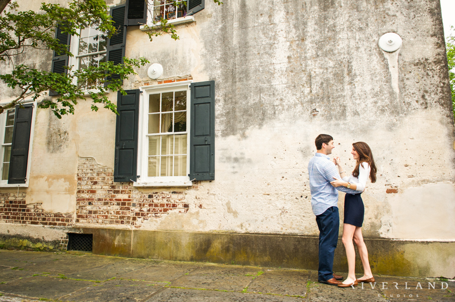 Jennifer  Drew Downtown Charleston Engagement