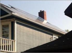 roof solar install