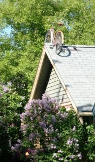 summer bike parking
