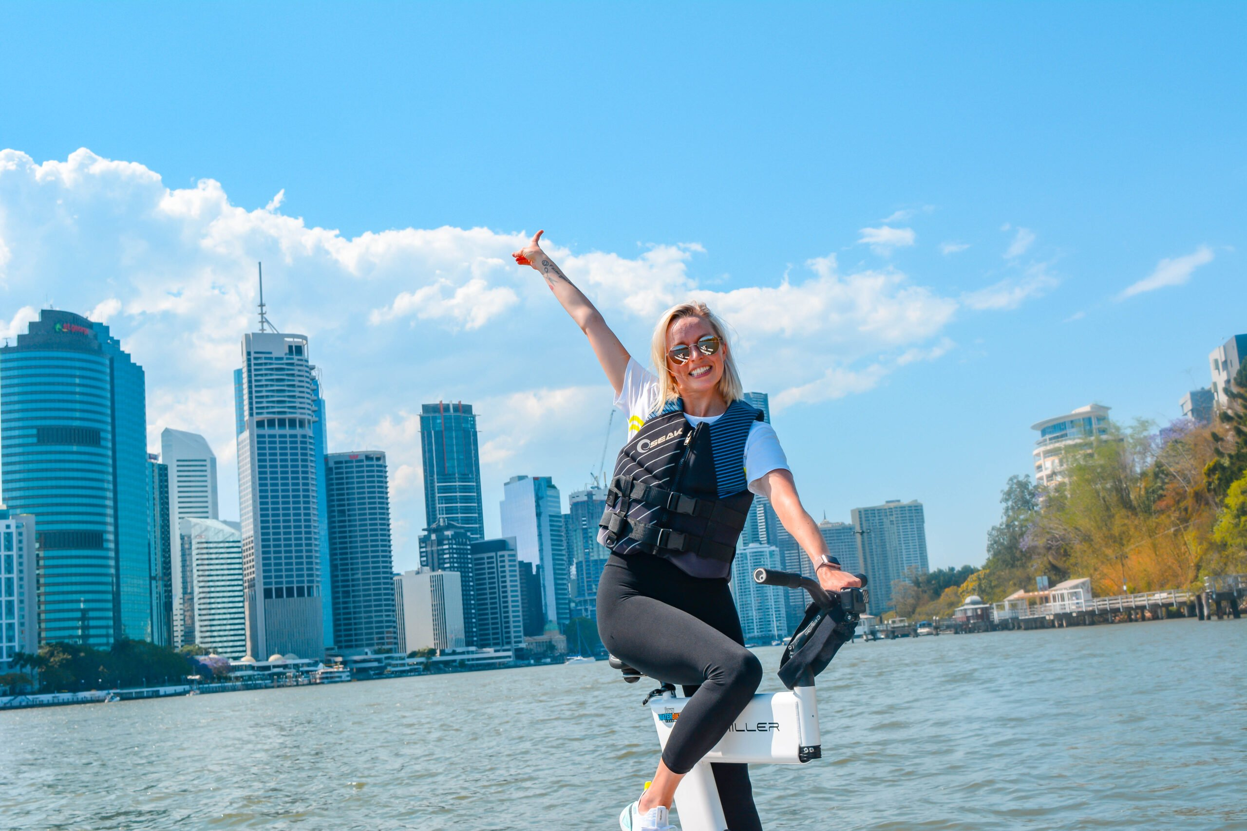 Brisbane water bike hire