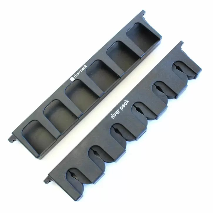 Wall-mounted rod holder