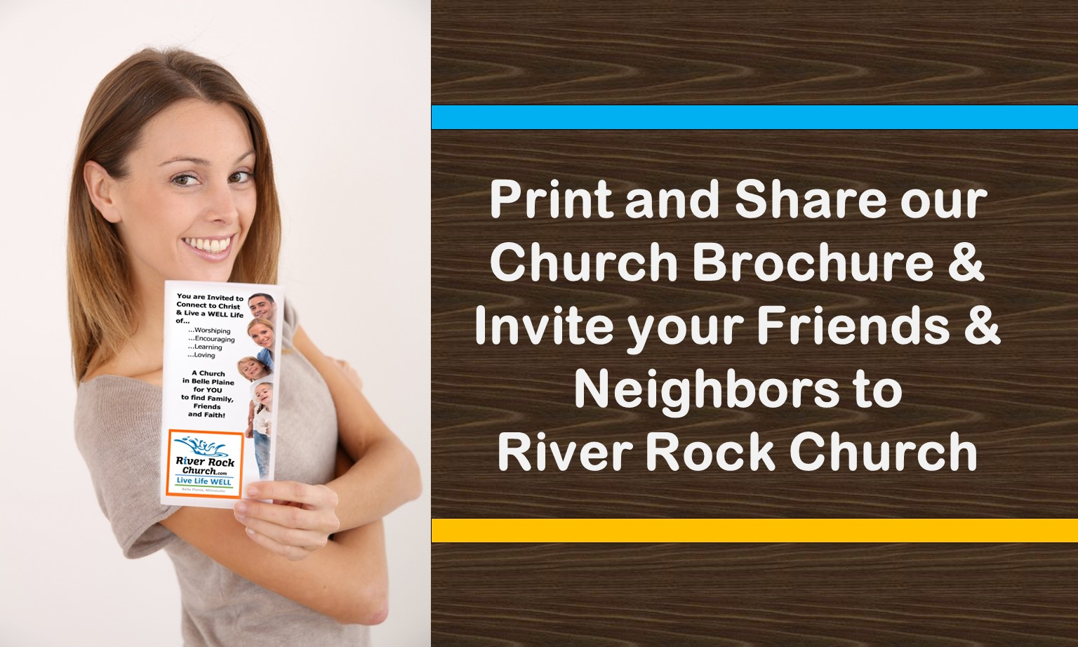 Print and Share River Rock Brochure