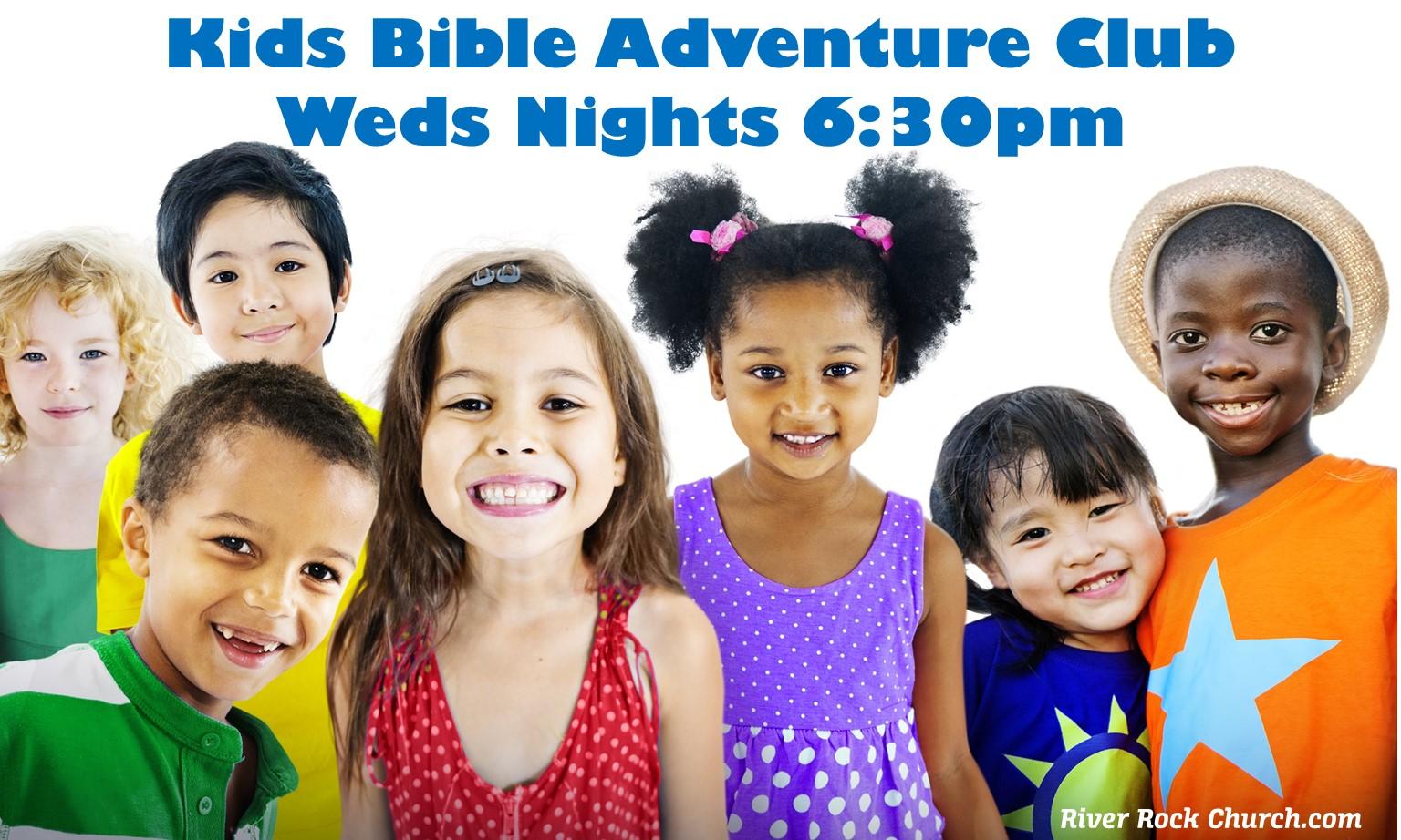 Kids Bible Adventure Club for April