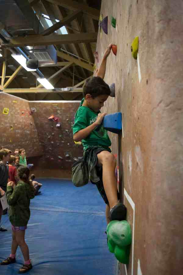 Competition - River Rock Climbing
