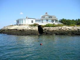 Dog Fish Head on Southport Island