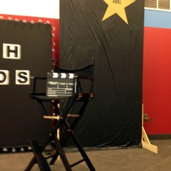 Ikea Kids Table And Chairs Baxton Studio Rocking Chair Decorating: Movie Theater Theme
