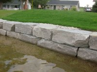 Retaining Walls  River's Edge