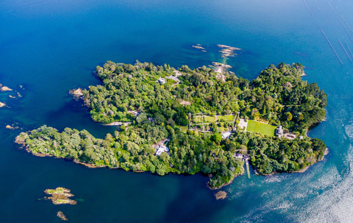 Aerial Photo of Garnish Island Bed and Breakfast