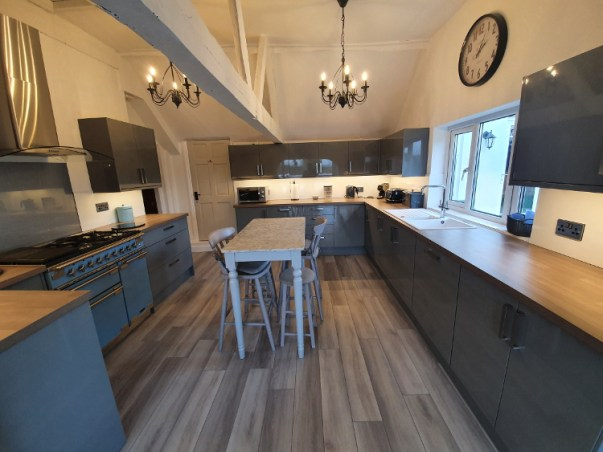 New kitchen fitted 2021