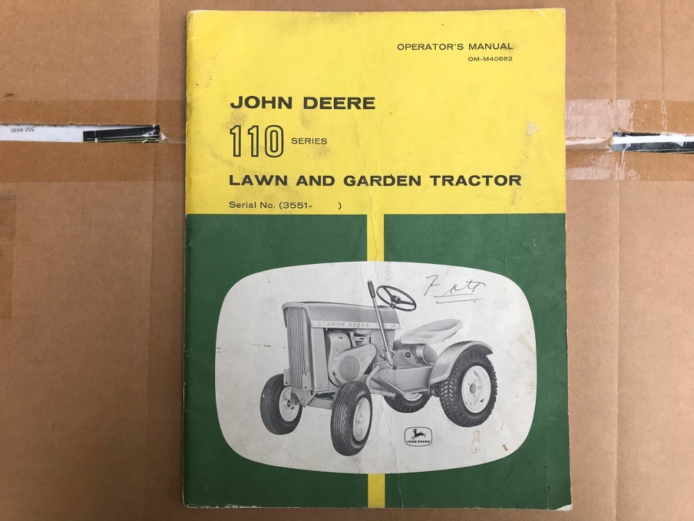 medium resolution of operation guides cars publication search enter decal model number up three keywords begin search john deere 110 garden tractor this page is dedicated to
