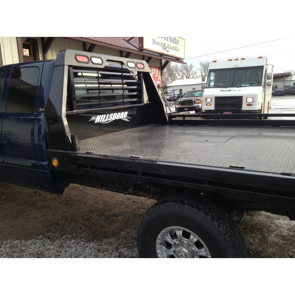 dodge trailer hitch 1992 ezgo marathon wiring diagram hillsboro gii steel bed - g ii pickup flatbeds/bumpers