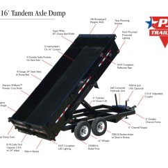 Load Max Gooseneck Trailer Wiring Diagram 2001 Ford Focus Ignition Pj Deckover Dump