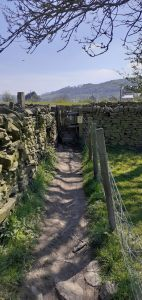 Riverside Walk - Stile from the footpath