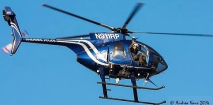 Riverside PD's Air-1. Photo Credit: Youtube.com