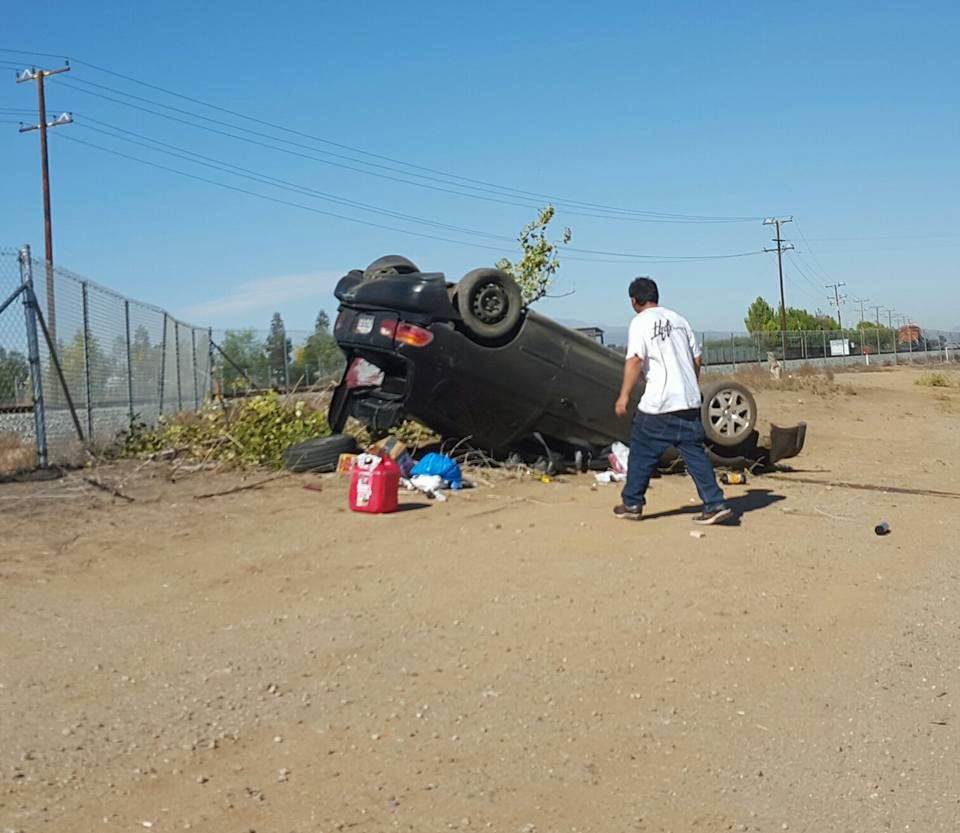 Car Accident Reports In Riverside Yesterday