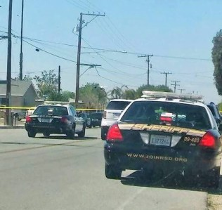 The shots fired call brought an enormous response from sheriff's deputies. JP Kemp / Epicenter News photo