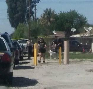 Deputies could be seen throughout the neighborhoods where the shots fired call originated. JP Kemp / Epicenter News photo