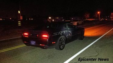 The subjects led police on a high speed pursuit, while driving a Dodge Challenger SRT.