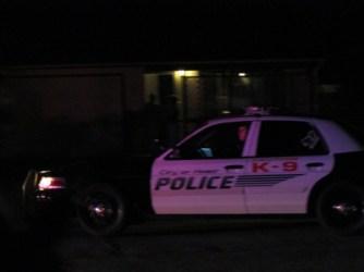 Hemet PDs K9 was called in to assist taking Barnett in custody. John Strangis photo