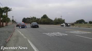 A 53-year-old Hemet resident was killed after being ejected through the sunroof of his 2013 VW Beetle. Miguel Shannon / Epicenter News