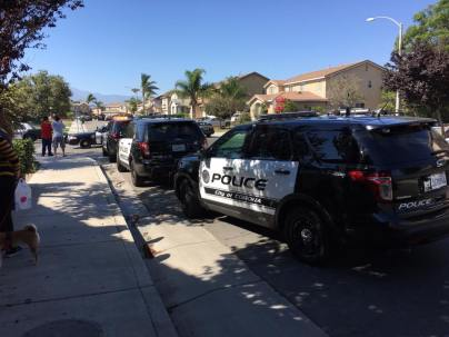Deputies from multiple surrounding agencies converged on the neighborhood after the shots fired call. Quoc-Tuan D. Tran‎ photo
