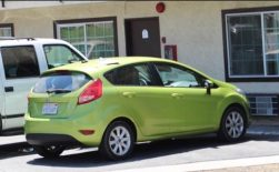The vehicle that was used in the theft of alcohol from Walgreens had been reported stolen from LA. Robert Carter photo