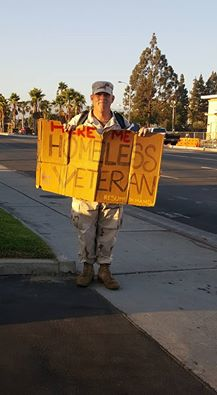 Jordan Taylor was recently spotted holding a sign asking to be hired and offering people his resume. Heather Nelson photo