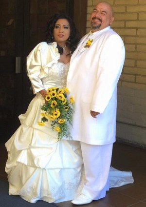 The Barragan's were recently married, after spending the last 18 years together.