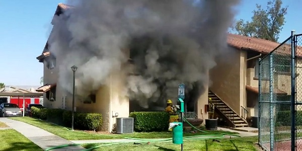HEMET: Apartment destroyed by blaze that also killed family pet in second apartment