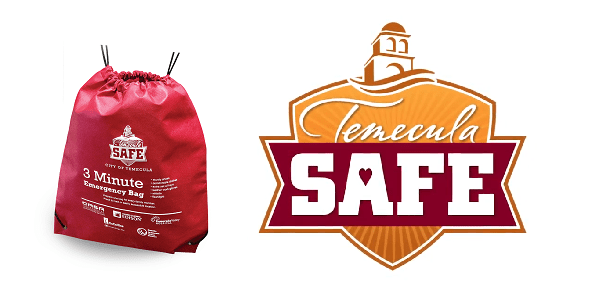 """Temecula SAFE 3-Minute Bags"" to be delivered to every Temecula home on Saturday"