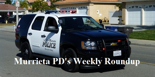 Enjoy a few laughs with Murrieta PD's Weekly Roundup 12/13