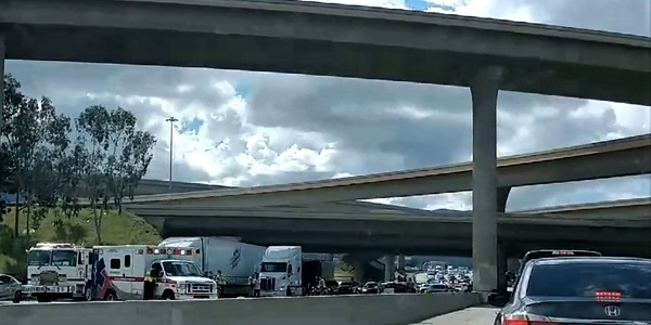 UPDATE: Man who leaped to death from I-15 overpass onto SR-91 ID'd