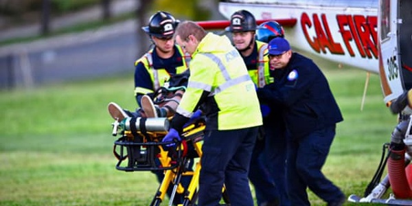 Injured teen mountain biker airlifted from remote trail near Corona