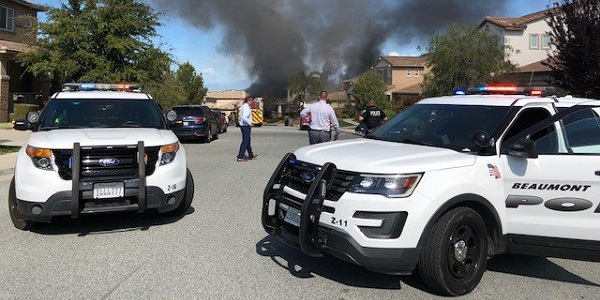 Officials investigating suspected arson blaze at Beaumont home