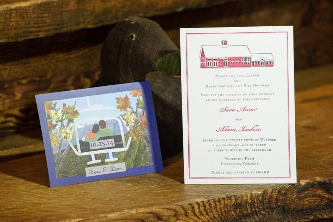 Riverside Farm Wedding Invitations