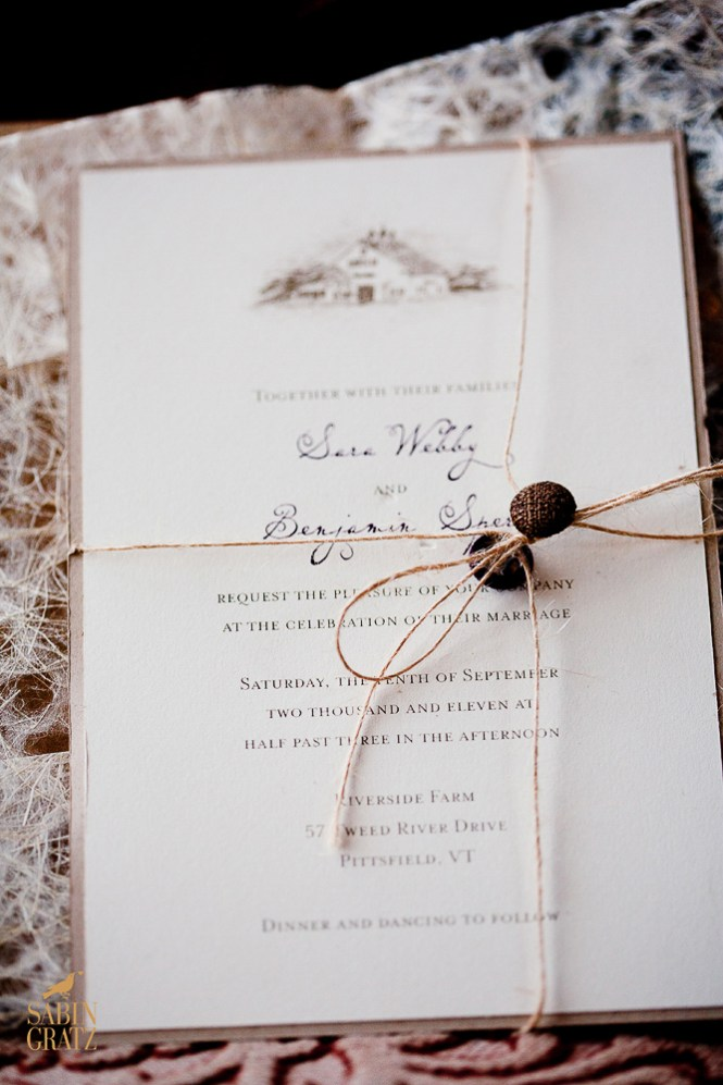 Some Of Our Favorite Riverside Farm Wedding Invitations