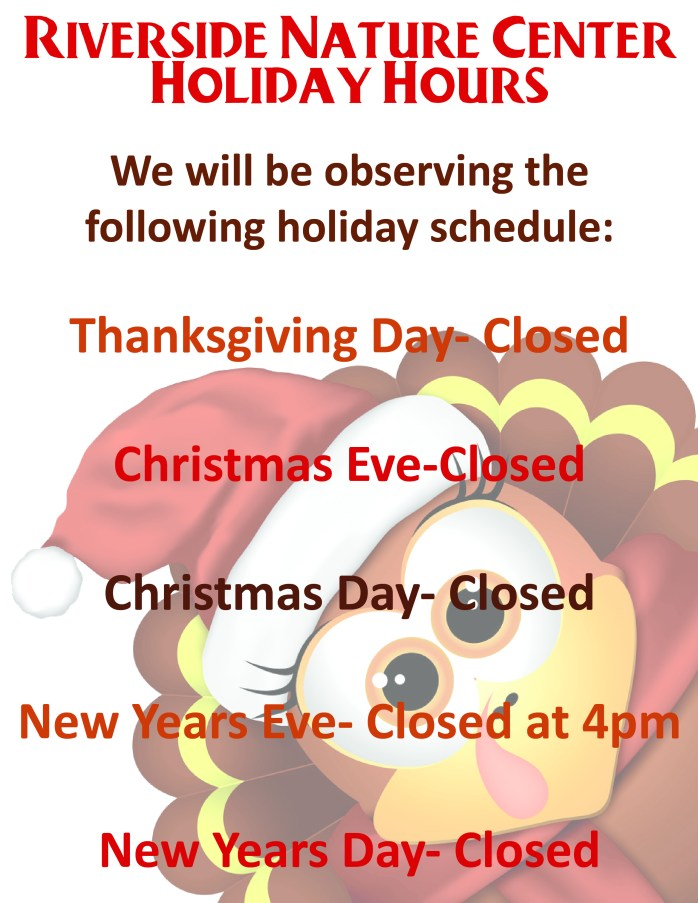 Holiday Hours 2020-01