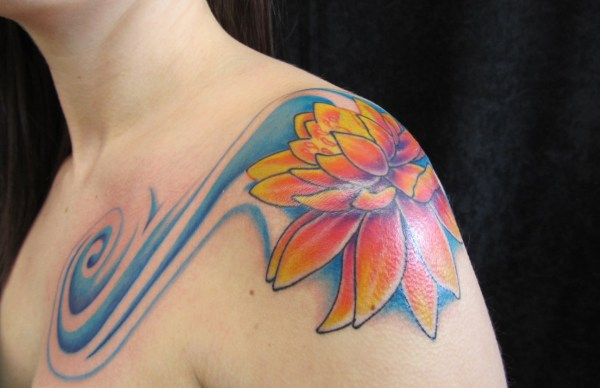 20 Water Lily On Lily Pad Tattoo Pictures And Ideas On Meta Networks