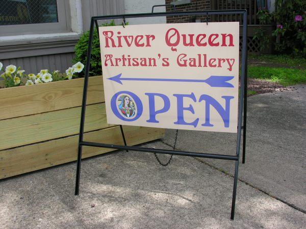 Frames & Sidewalk Signs - River