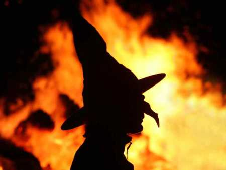 witch-fire