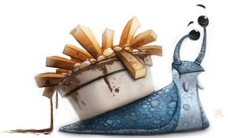 daily_painting_619___twitter___a_very_french_snail_by_cryptid_creations-d7t4kza