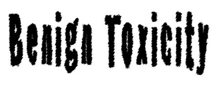 Benign Toxicity Logo small black on white